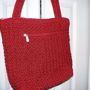SAK Red Handbag